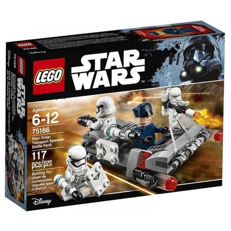 スターウォーズ Star Wars レゴ LEGO おもちゃ First Order Transport Speeder Battle Pack Set #75166