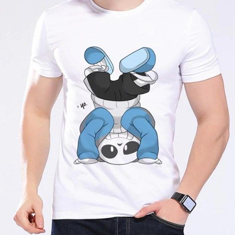ゲームグッズ アンダーテール Undertale   Annoying dog サンズ sansTシャツ  かわいいサンズ 1