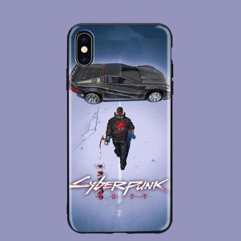 サイバーパンク 2077  TPU Iphoneケース アイフォン  Cyberpunk 2077   8