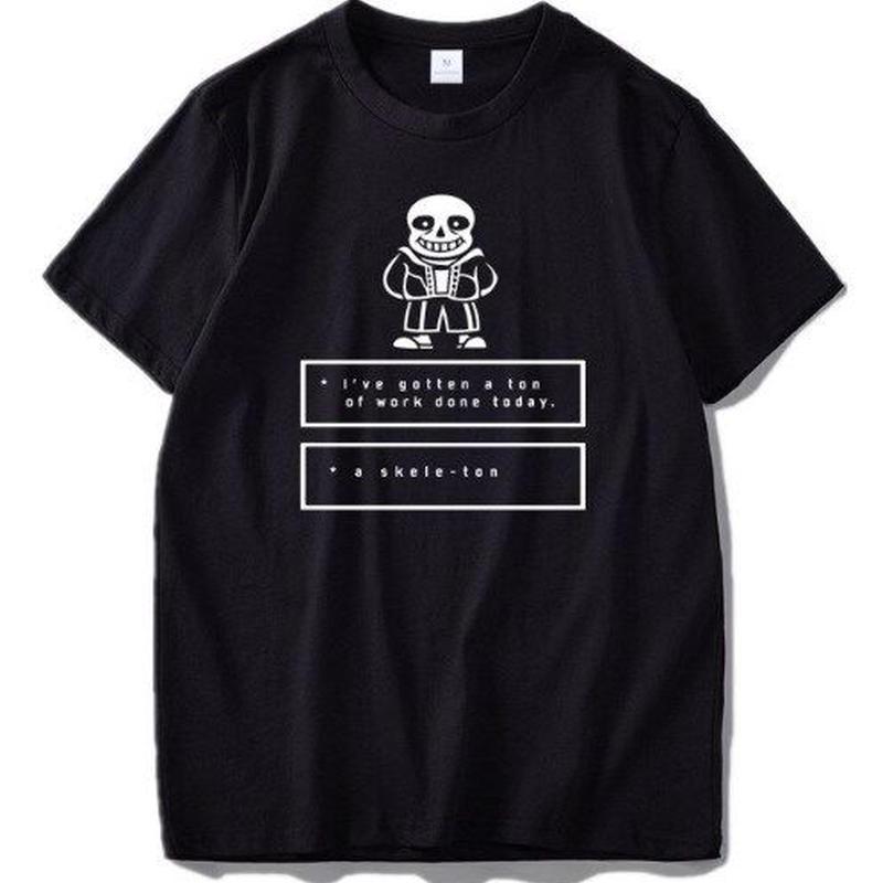 ゲームグッズ アンダーテール Undertale   ロゴ メッセージ Tシャツ 12