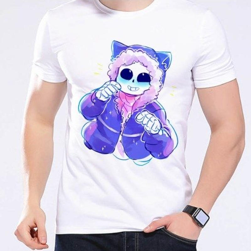 ゲームグッズ アンダーテール Undertale   Annoying dog サンズ sansTシャツ  かわいいサンズ 8