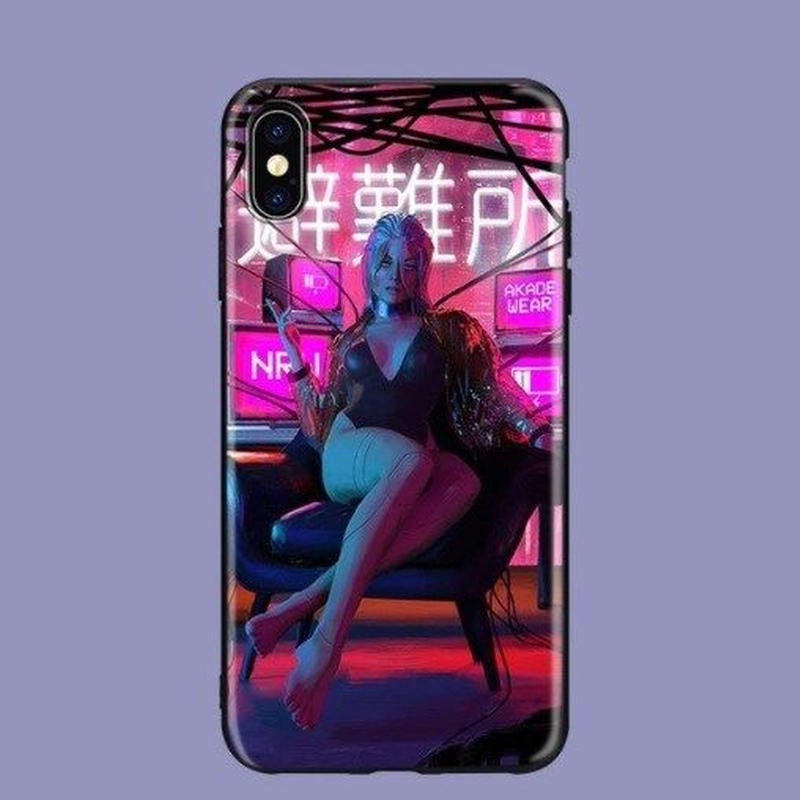 サイバーパンク 2077  TPU Iphoneケース アイフォン  Cyberpunk 2077   9