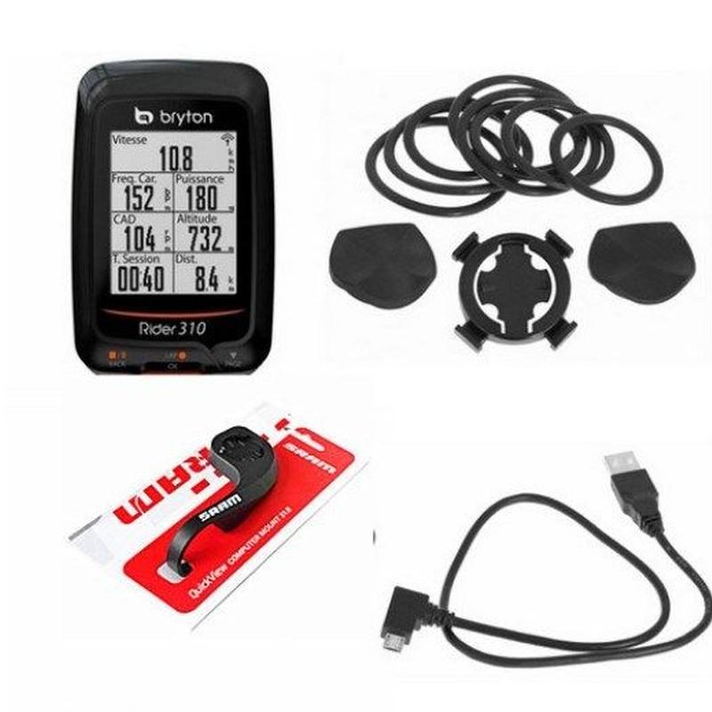 Bryton Rider 310 GPSサイクルコンピュータ セット ブライトン ライダー