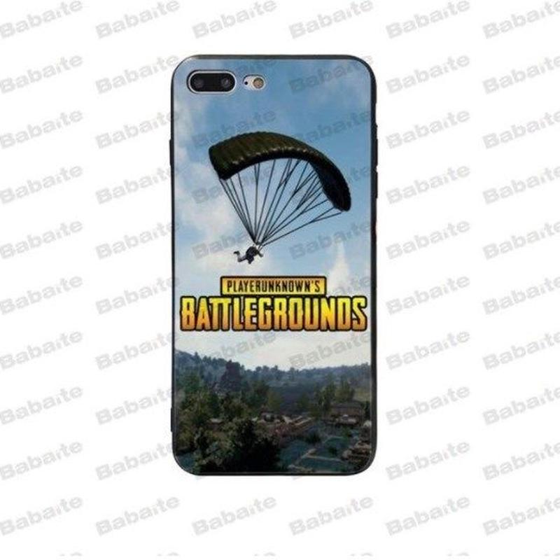 Pubg パブジー ゲーム TPU Iphoneケース アイフォンケース   playerunknown Battlegrounds プレイヤーアンノウンズ バトルグラウンズ  5