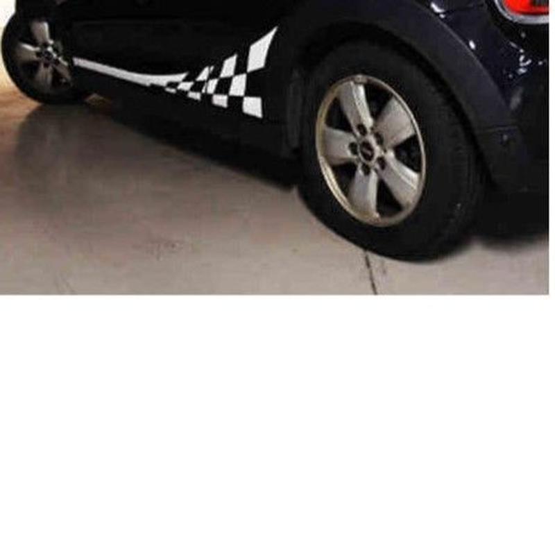 ミニクーパー ステッカー 2個入 TAIWAN ボディ BMW F55 F56 R56 R60 サイド ボディ h00404