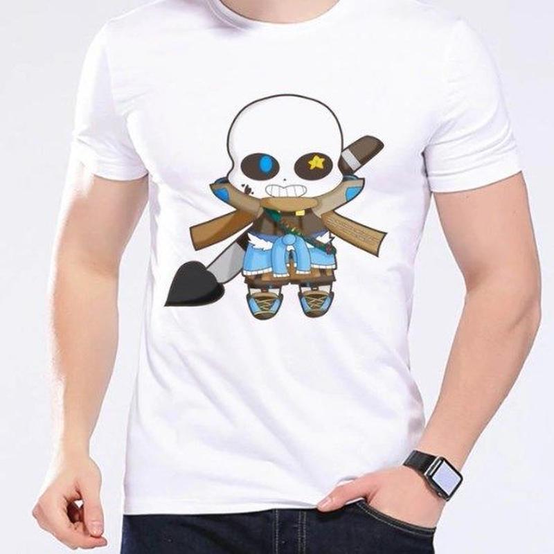 ゲームグッズ アンダーテール Undertale   Annoying dog サンズ sansTシャツ  かわいいサンズ 4