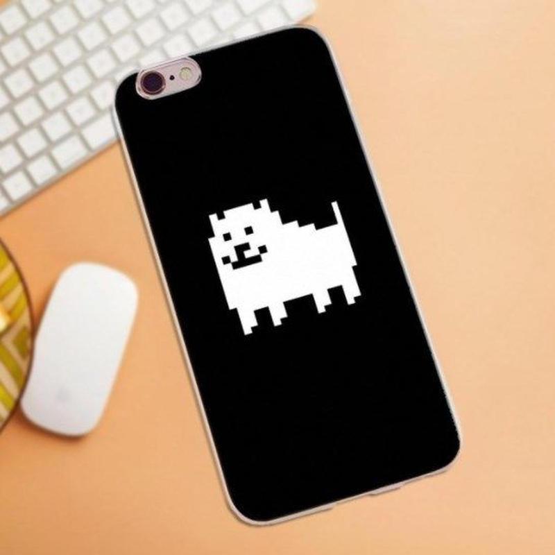 ゲームグッズ アンダーテール Undertale   Annoying dog うざい犬  うざいイヌ  ソフトTPU  iphoneケース  アイフォンケース  10パターン展開  5
