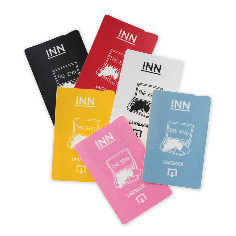 Ken Kagami × INN|IC CARD STICKER