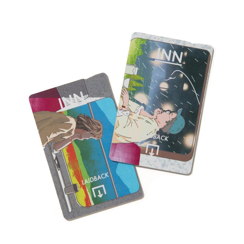 石井嗣也 × INN SUMMERTIME SADNESS IC CARD STICKER