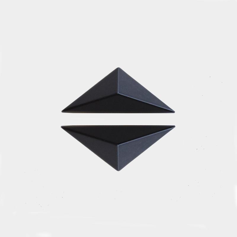 Triangle Studs (Wide)