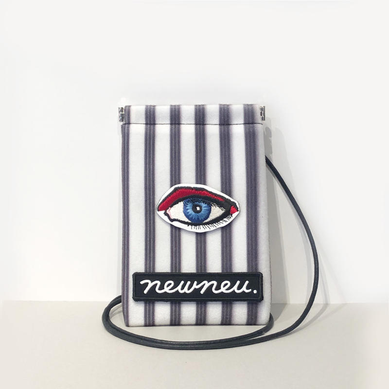 "NECK STRAP POUCH ""EYE"" -Customized-"