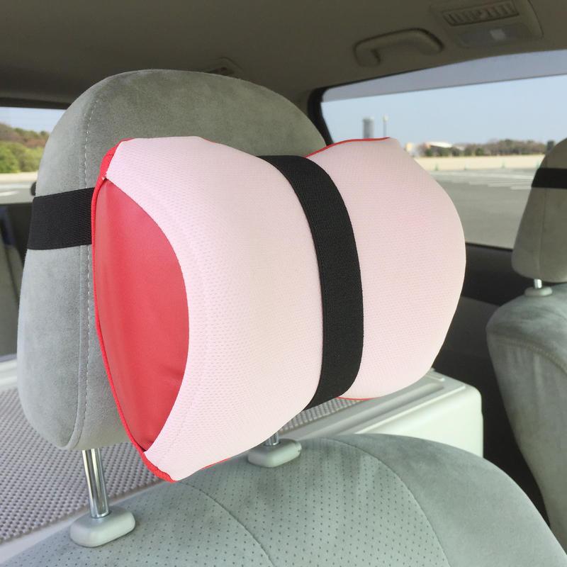 【車用セット】 neckluck (ピンク/レッド)