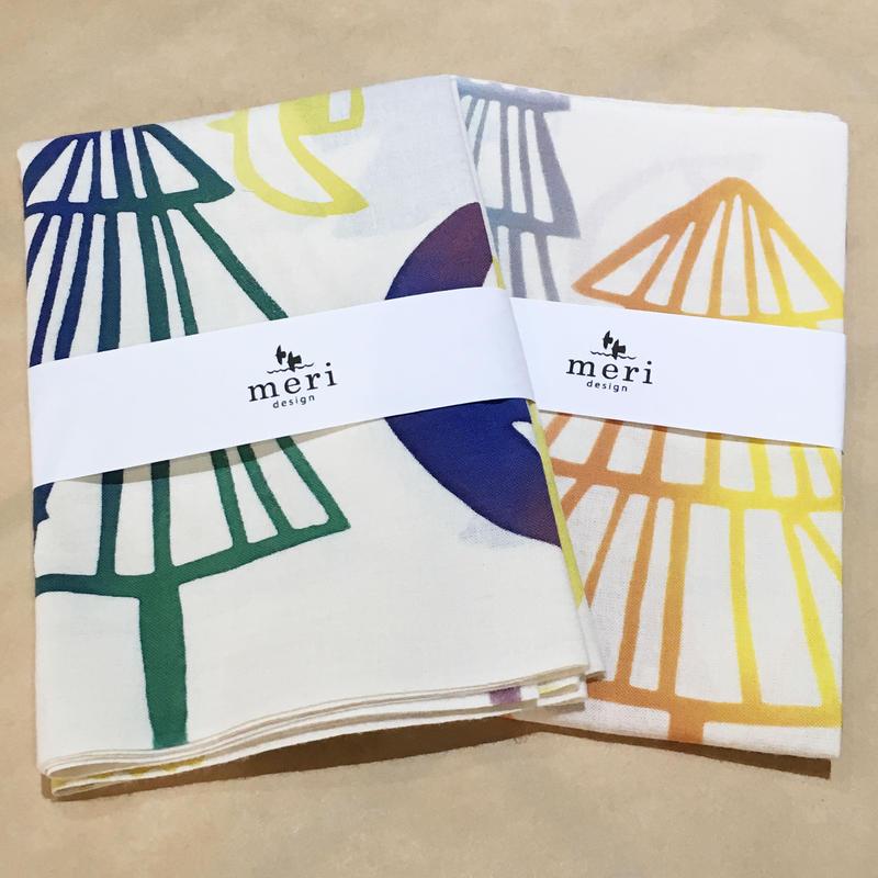 THE ACE SHOP | meri design 浜松注染手ぬぐい「森」
