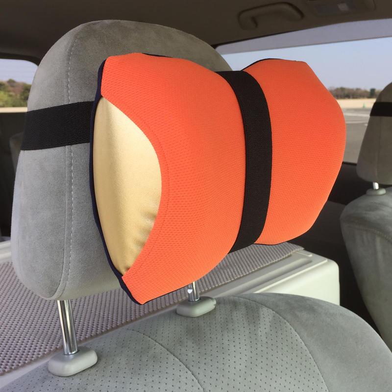 【車用セット】 neckluck (オレンジ/ネイビー)