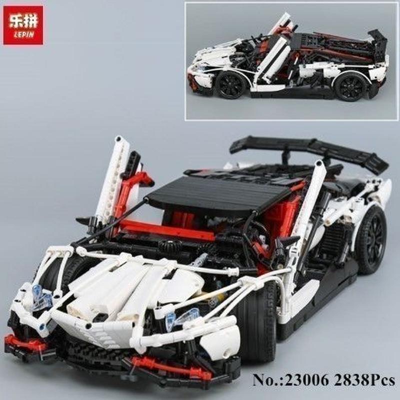 レゴ互換品 2838ピース 23006 レースカー LEGO互換