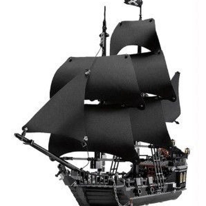 レゴ互換品 LEGO互換 LEPIN 16006 パイレーツオブカリビアン ブラックパール号 804ピース 4184
