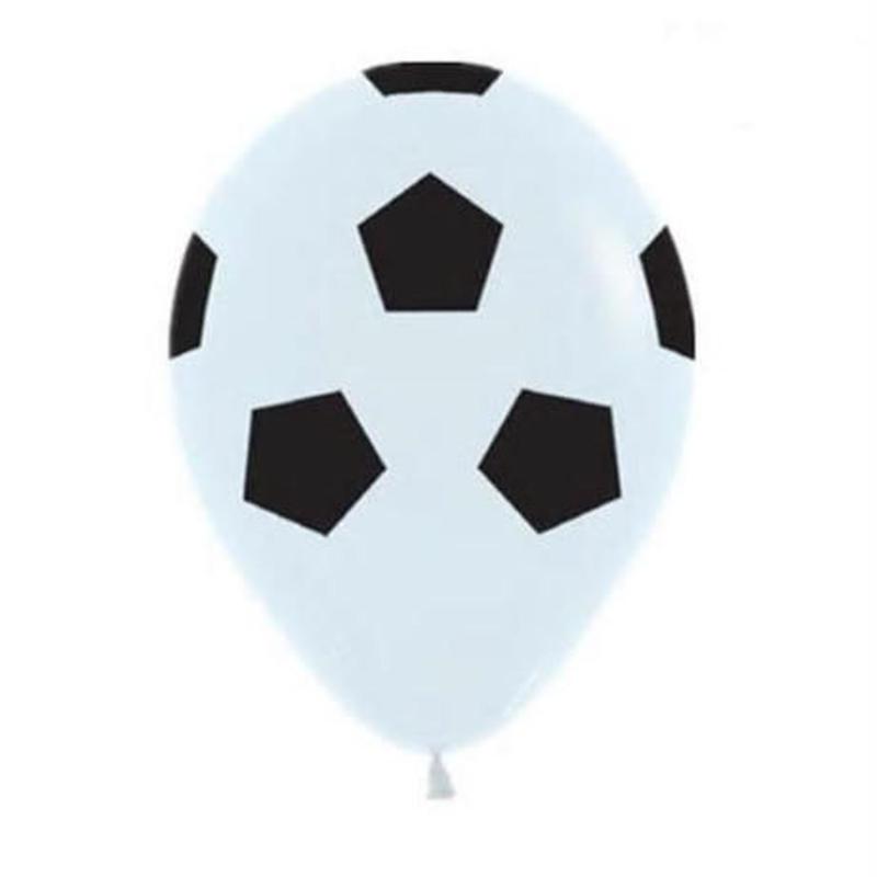 風船 13個セット サッカーボール×緑 飾り デコレーション 誕生日 結婚式 卒業 試合の応援 パーティ バルーン ヘリウム
