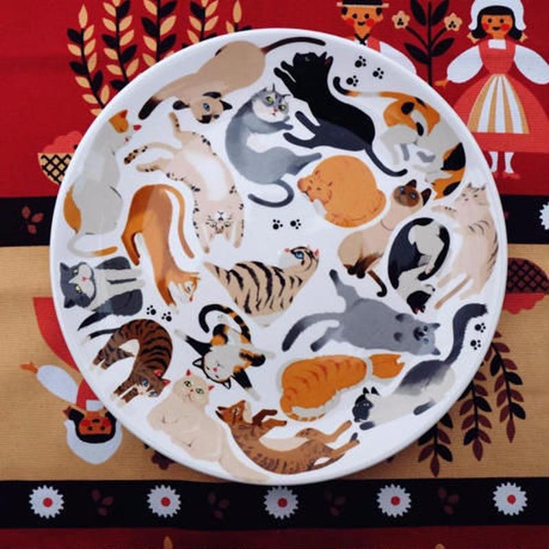 新品送料込 皿 セラミック 食器 猫 動物 北欧スタイル 高級 おしゃれ ホームパーティ