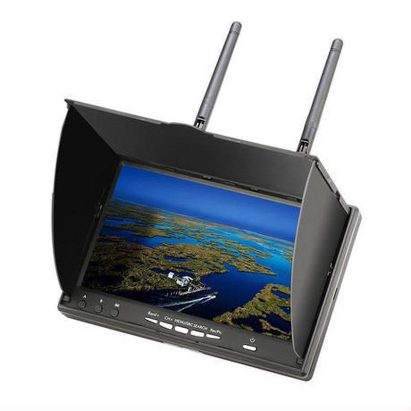 Eachine 5802D 5.8G 40CH DVR内蔵 7インチ FPV モニター ドローン空撮 ラジコンヘリ