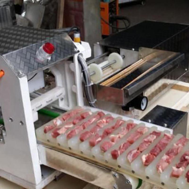 ケバブグリル 1.5 kw 1600個/ h全自動肉ケバブ串焼き機 1時間で1600個作成可能