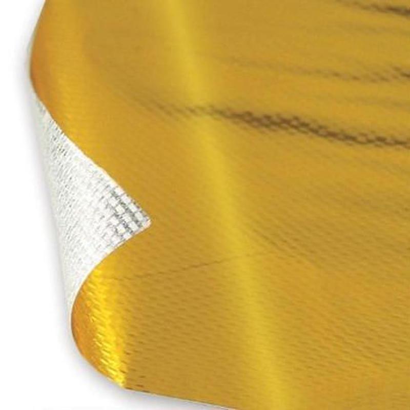 ボンネット ヒートプロテクトラップ 耐熱遮熱シート テープ1×1.2mエンジンルームカスタム ドレスアップ エンジン