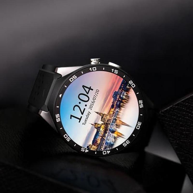 スマートウォッチ KW88 Android5.1搭載 スマートブレスレット アンドロイド 丸形 腕時計 スマートフォン スマホ
