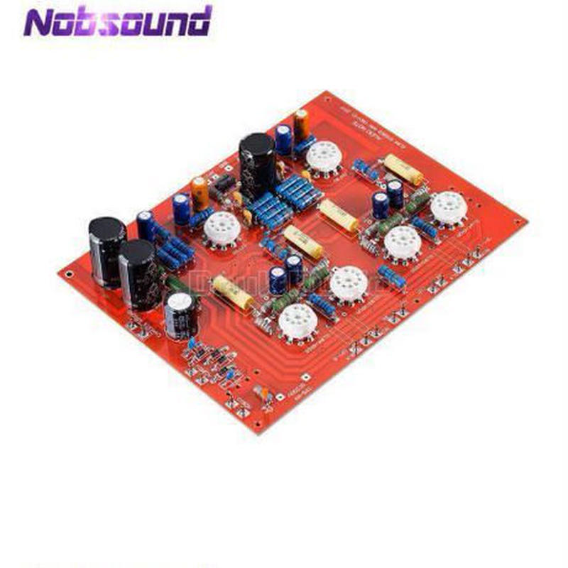 Nobsound ハイエンドステレオ EL84 バキュームチューブアンプ PCB DIYキット オーディオプッシュプルPPボード
