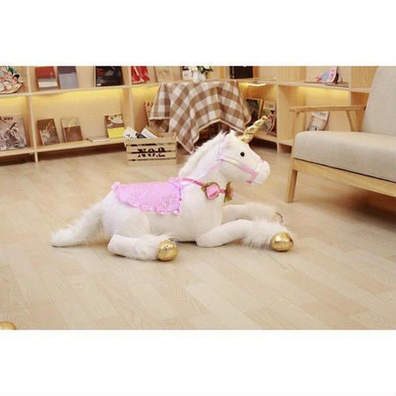 ユニコーン ぬいぐるみ 大きい 85cm 巨大 ビッグサイズ 馬 人形 ドール