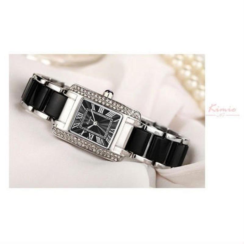 レディースクォーツ腕時計 ファッション ブレスレット時計 防水 5カラー展開