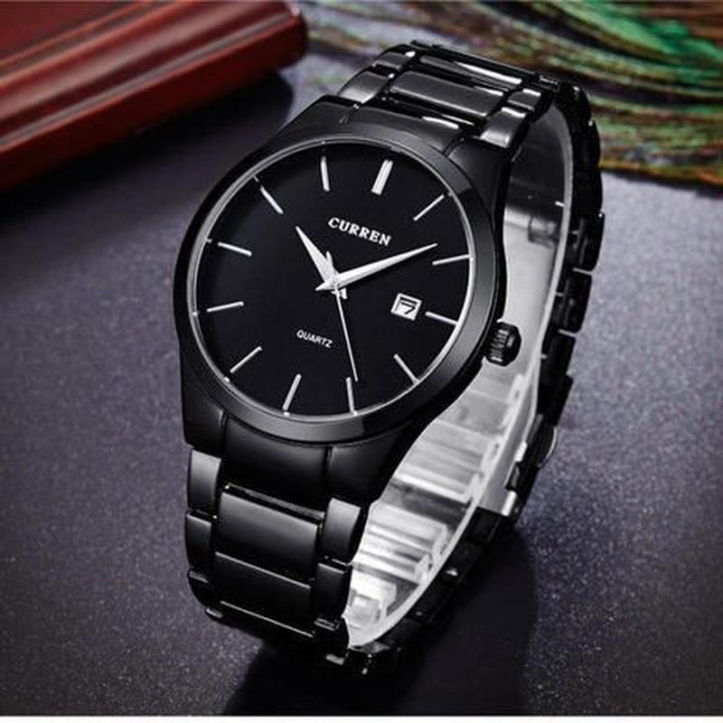 CURREN 高級ブランド アナログ メンズクォーツ時計 ビジネスウォッチ 4モデル展開