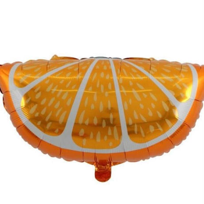 おしゃれ風船 レモン オレンジ 果物 50枚入 飾り デコ 誕生日 結婚式 イベント パーティ ふうせん バルーン ヘリウム