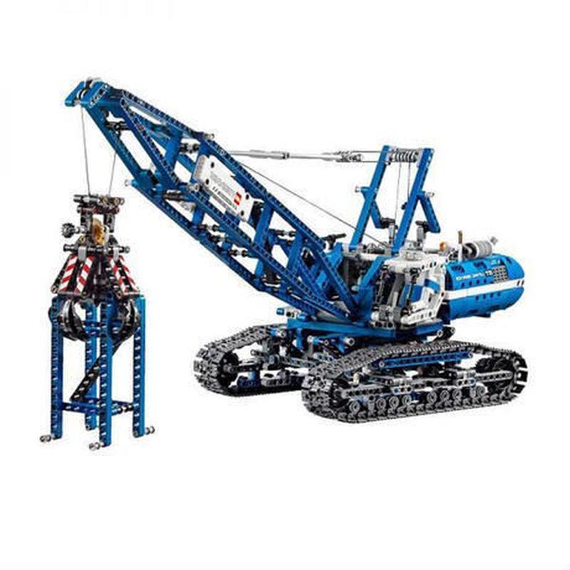 LEPIN社 1401ピース テクニックシリーズ クローラー クレーン ビルディング レゴブロック互換 LEGO互換