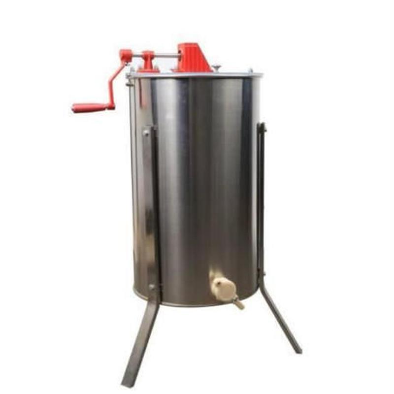 蜂蜜分離器 遠心分離器 3枚式 業務用 養蜂 はちみつ遠心分離器 honey machine 【新品送料無料】