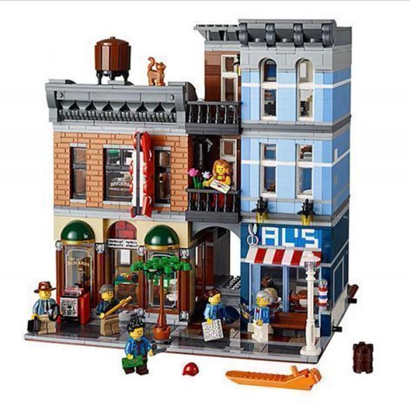 レゴ互換ブロック LEPINブロック レゴ互換 探偵事務所 2262ピース