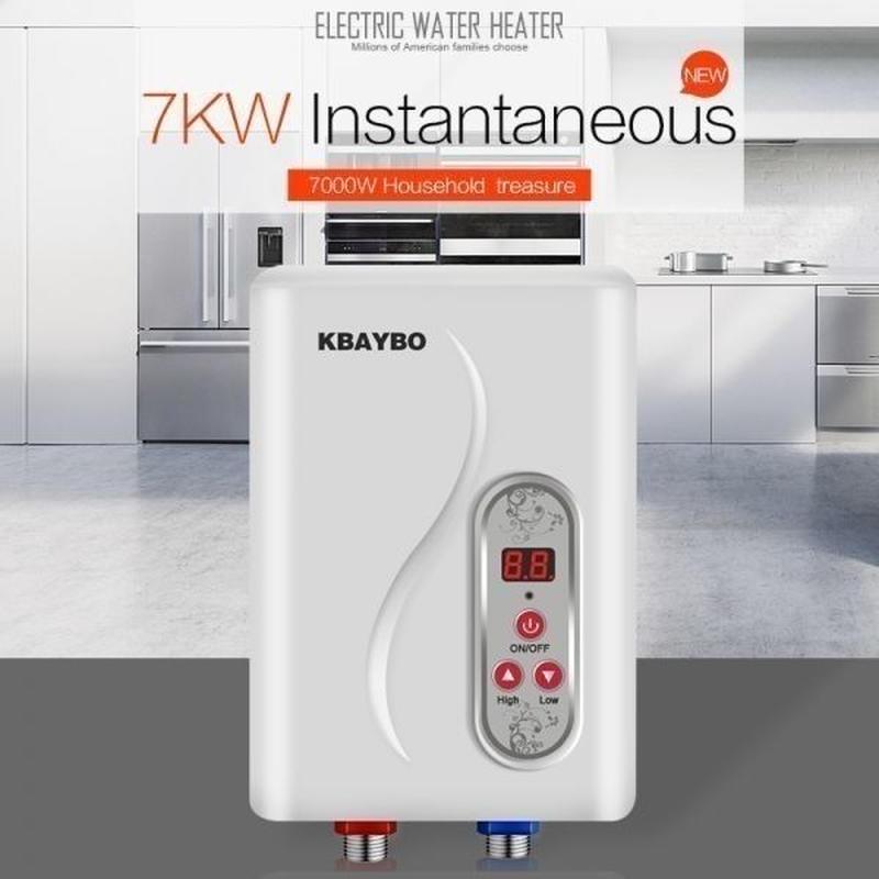 7000W 瞬間湯沸かし器 ヒーター インスタント 電気タンクレス給湯器 電気 温水暖房シャワー 浴室 シャワー 赤ちゃん