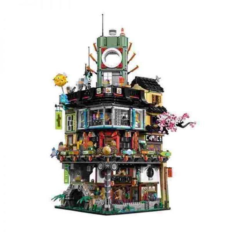 LEGO レゴ 70620 互換 4932pcs ニンジャゴー シティ風 LEPIN 06066