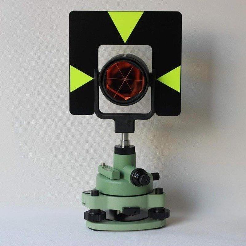 測量 汎用品 メタルグリーンシングルプリズム セットシステム ミニプリズム プリズム