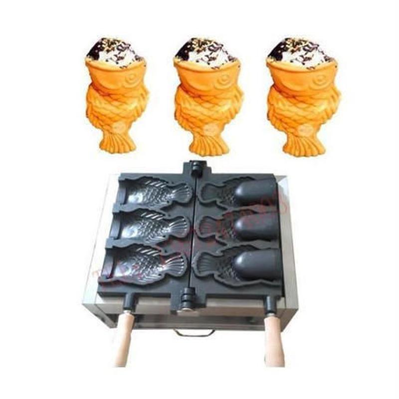 アイスコーン たい焼き機 業務用 家庭用 電気 110V(国内対応) ◇新品◇