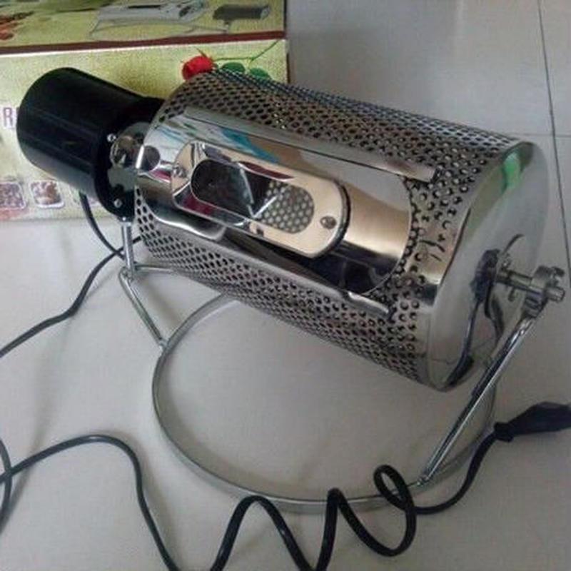 コーヒー豆焙煎機 炒り器 生豆 ナッツ 大豆 ゴマ 栗 直火 飲食店 煎る