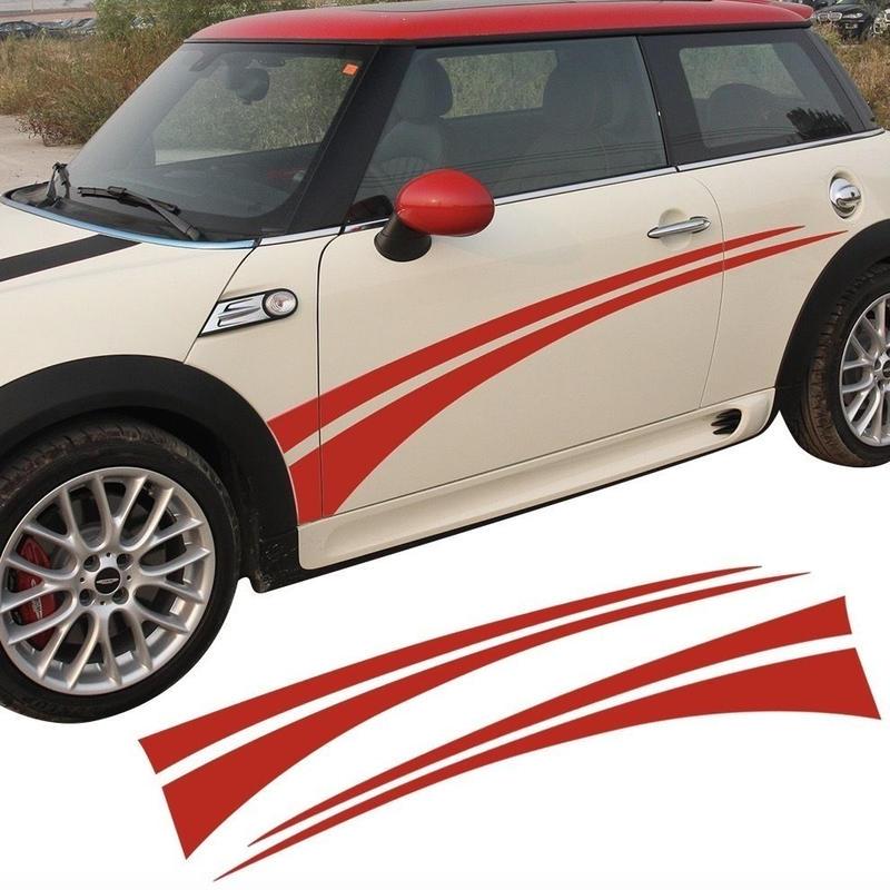 ミニクーパー ステッカー ドアサイド デカール F55 F56 R60 R61 R50 R52 R53 R56 R57 R58 R59