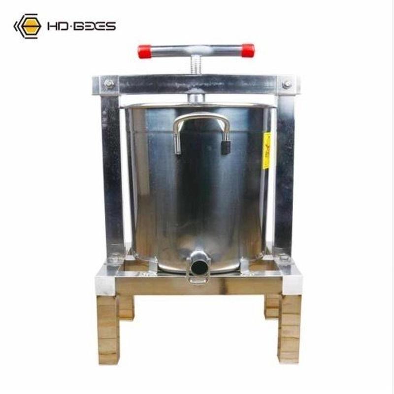 養蜂機器 蜂蜜抽出 絞り機 手動 ワックスプレス機