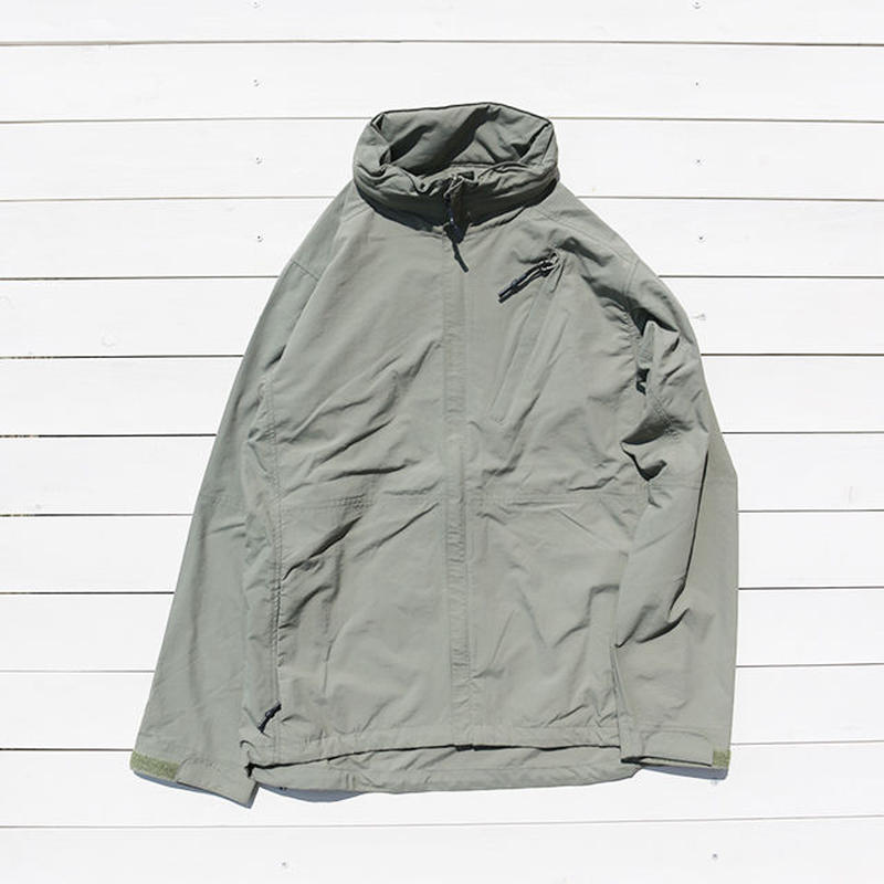 BURLAP OUTFITTER / SUPPLEX FULL ZIP WIND SHIRT