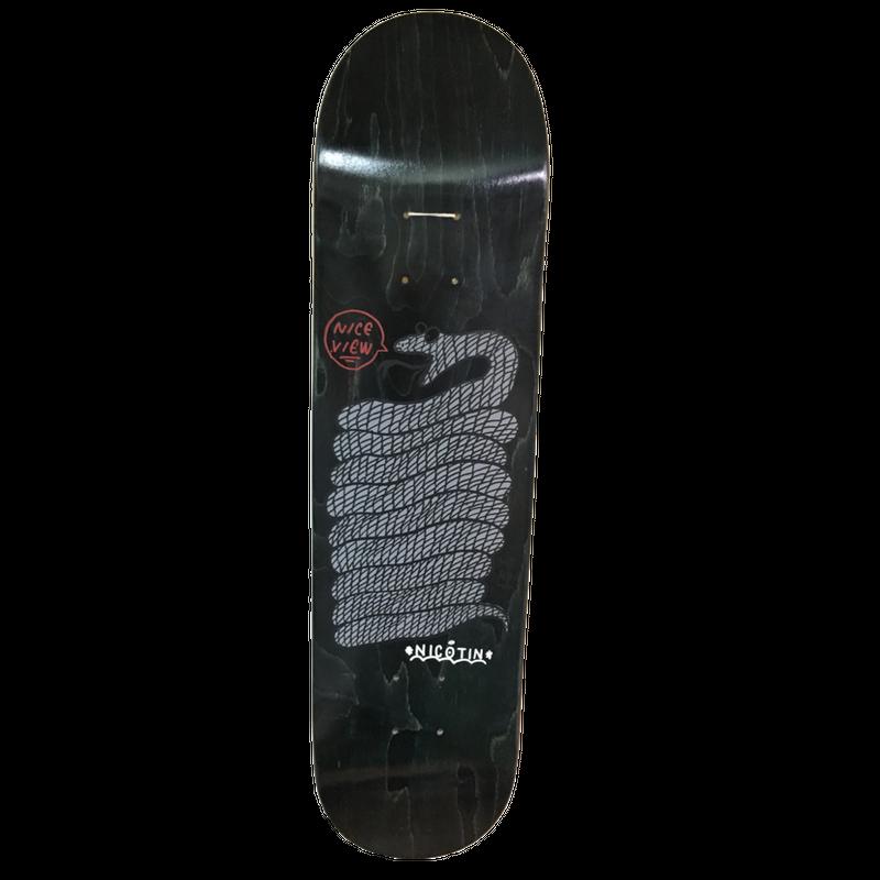 NICOTIN skate deck7.75