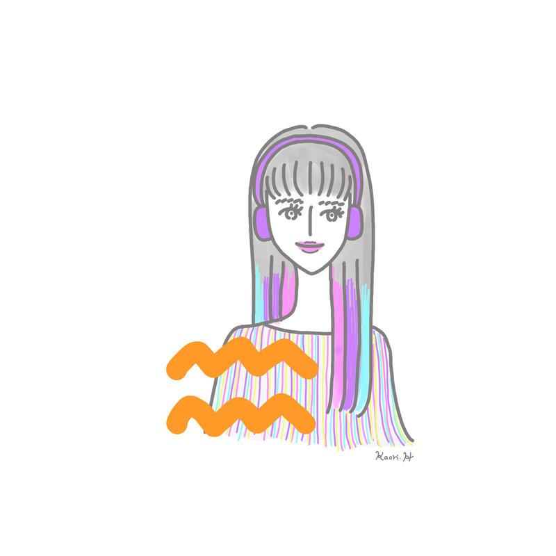 水瓶座girl