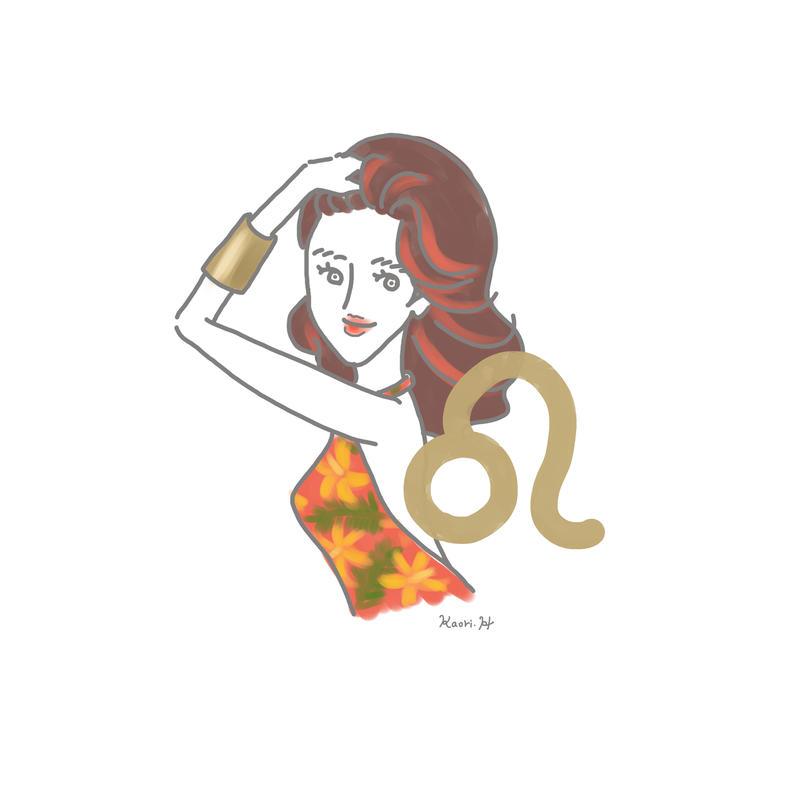 獅子座girl