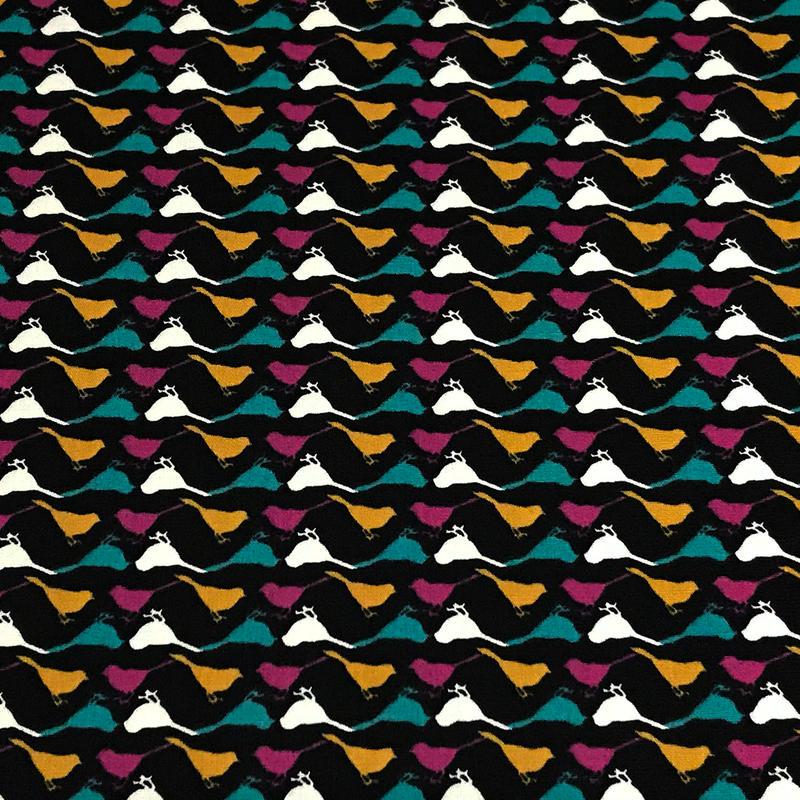 Katarina Roccella 鳥のシルエット  ※15cm x 15cm