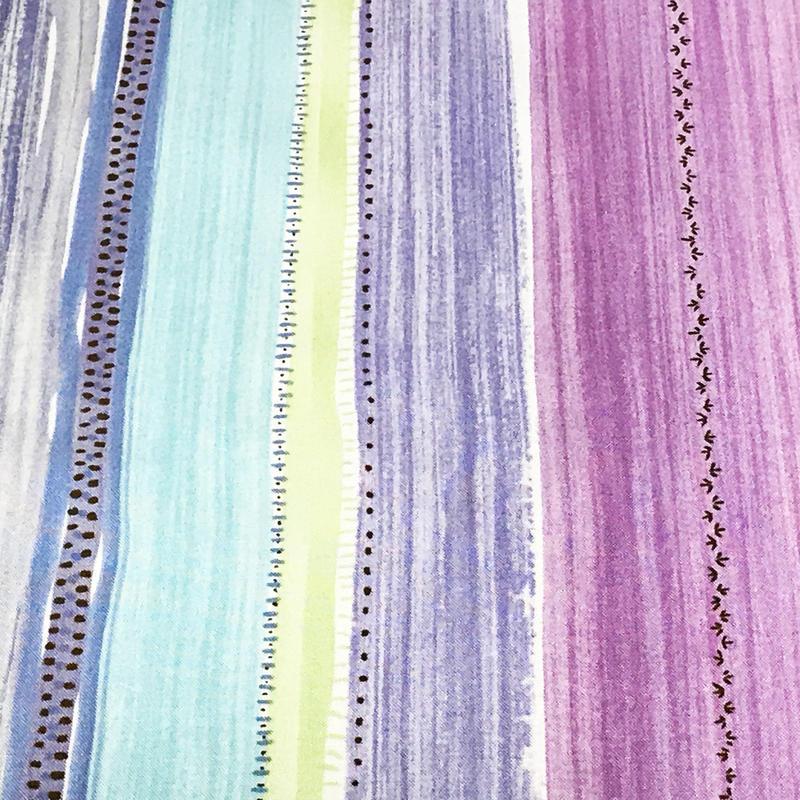 Painted Stripes/Purple ※15cm x 15cm