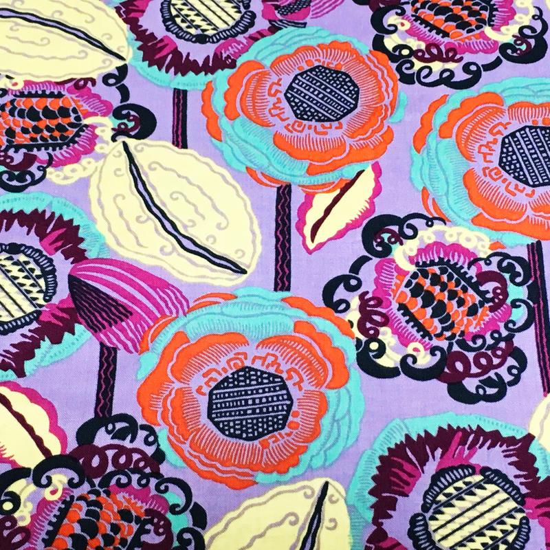 ココブルーム/紫 ※50cm x 50cm