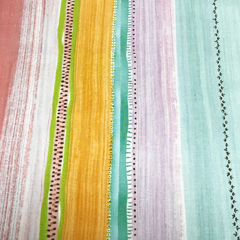 Painted Stripes/Pink ※15cm x 15cm