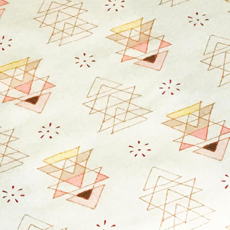 Maureen Cracknell / 三角オブジェクト  ※50cm x 50cm